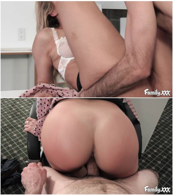 [Family.xxx] Carmen Caliente - Screwing Around In The Office Has Its Perks [1080p, 2019/03/26,  sloppy blowjob, kissing, pussy licking, fingering, missionary]