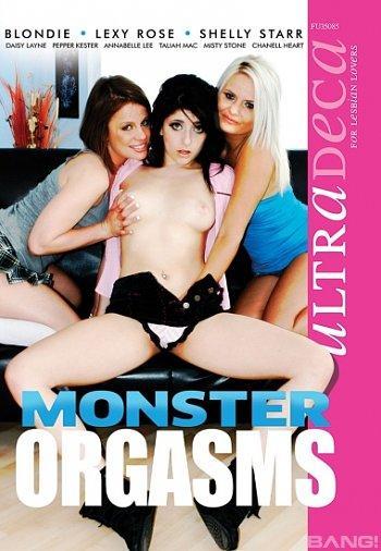 Monster Orgasms XXX (1080p, lesbian, blonde, brunette, redhead, threesome)