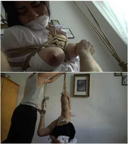 ModelHub  Rae Lil Black  Kinbaku   Me suffering in rope and shared an intense moment  1080p