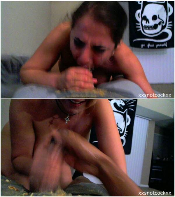 [Clips4Sale]Snotcock - Bellona Barf covers my dick in pizza puke (snot.on.cock snot puke.on.cock puke clips4sale.com deepthroat cum.in.nose fetish wtf running.mascara scat)