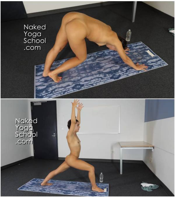1-Hour Naked Yoga for Marathon Runners 60-minutes