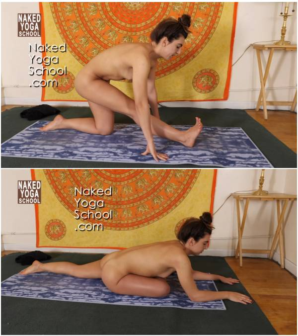 1-Hour Naked Yoga for Tight Hips- Hip Opener