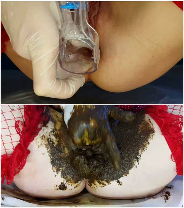 Anna Coprofield - Through The Speculum Filled Pussy Full (eating scat video)