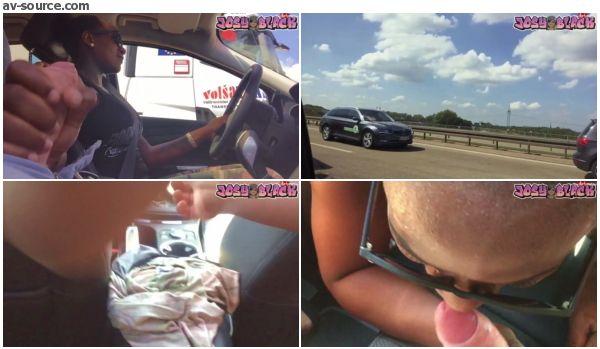 Autobahnfick- Ich ficke meinen Klassenkameraden mit Josy-Black
