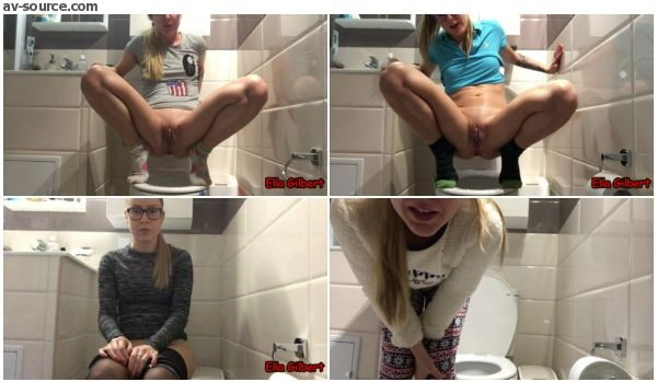 Ella Gilbert - 5 Days Bowel Movement Compilation