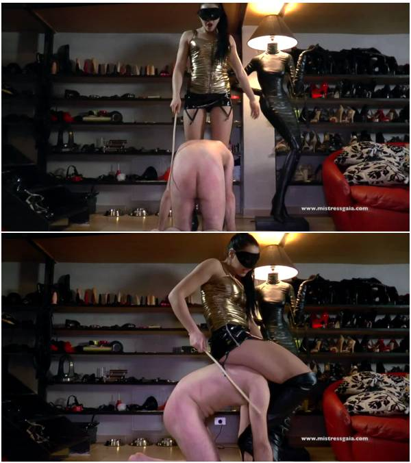 MistressGaia - Pain In The Ass (eating scat video)