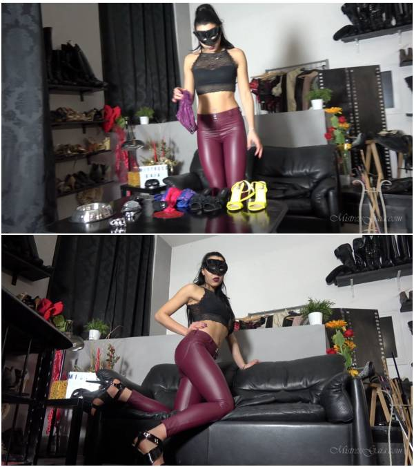 MistressGaia - Sissy Parlour (brazilian scat video)