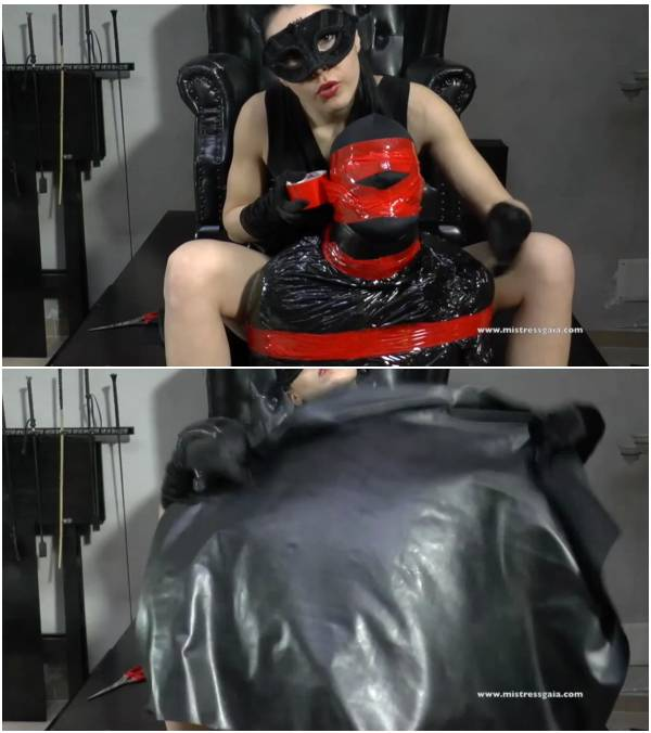 MistressGaia - Sublime Smother With Latex (asian scat video)