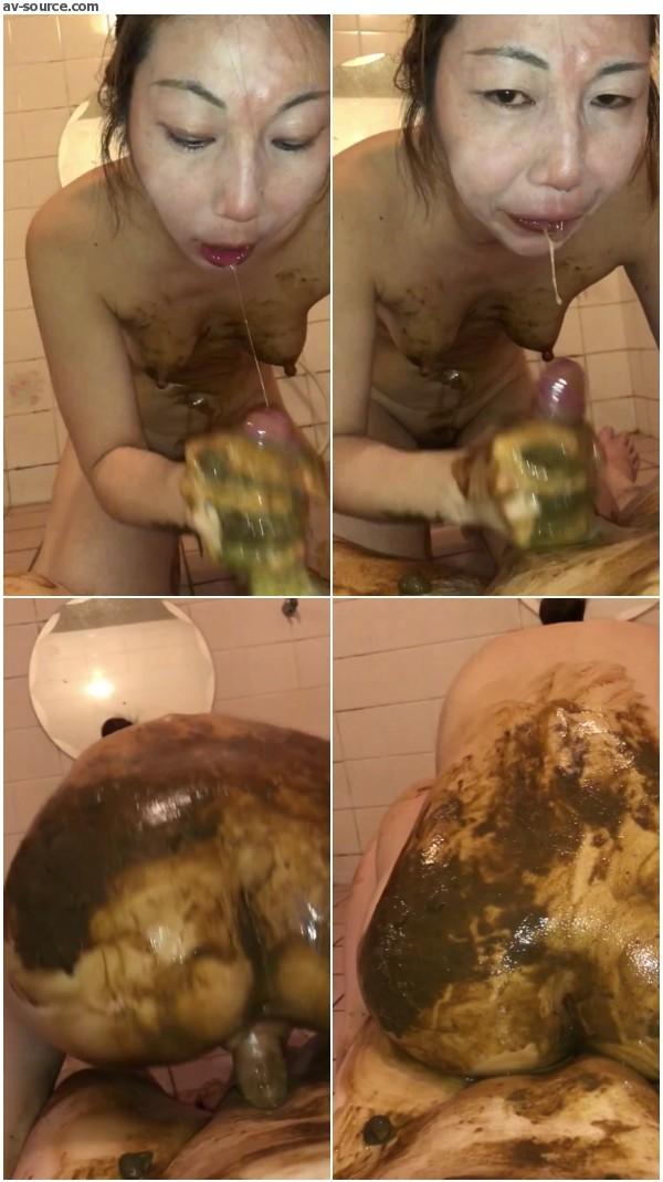 My crazy poop play I love Kinky poop play - video 11 -
