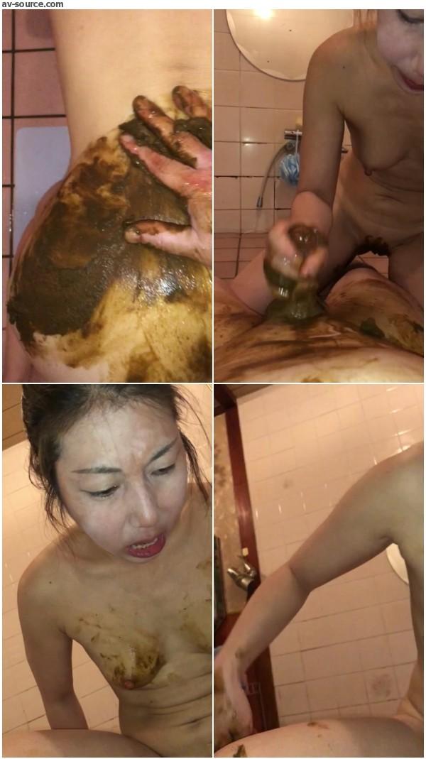 My crazy poop play I love Kinky poop play - video 9 -