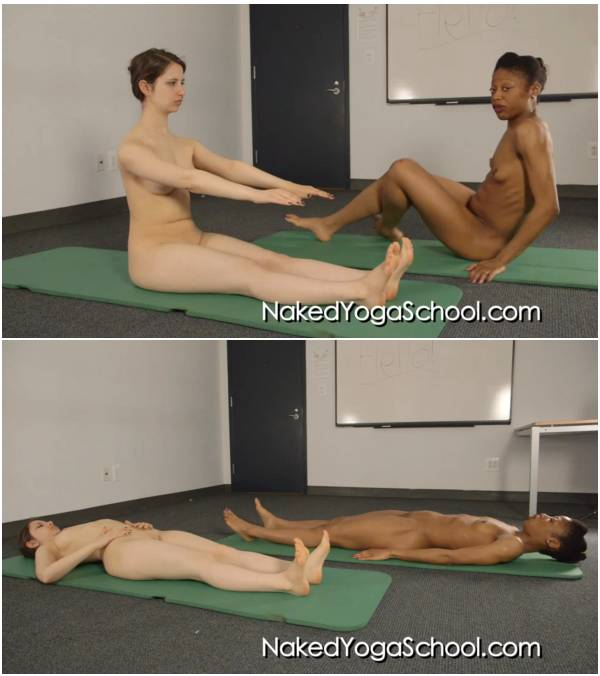 Naked Beginner Pilates 1- Half and Full Roll Up 52A