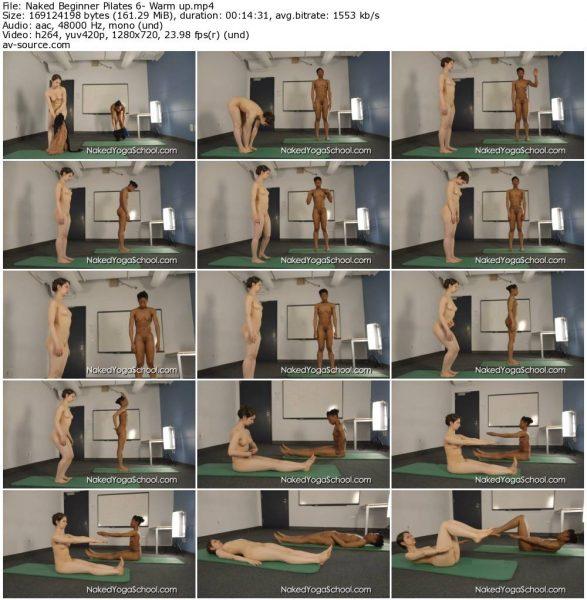 Naked Beginner Pilates 6- Warm up