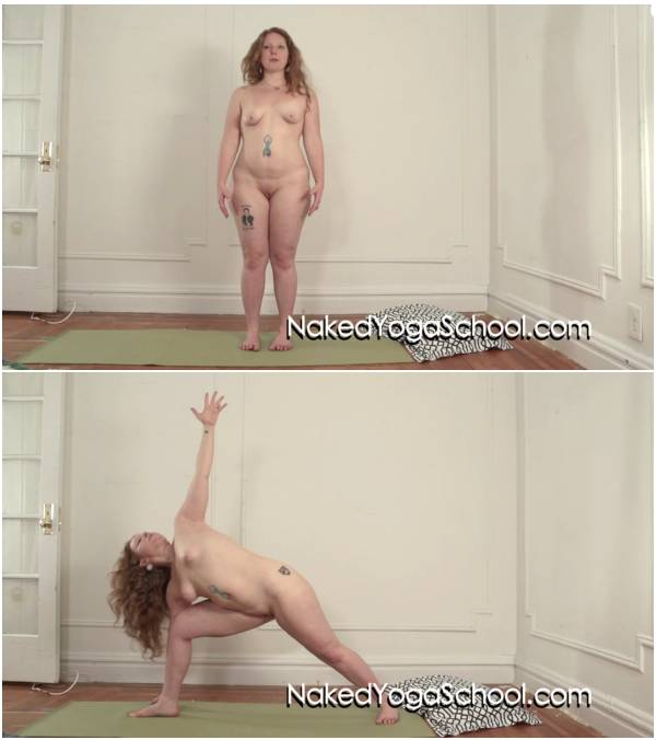 Naked Morning Yoga 1 Naked Yoga School with Ivy