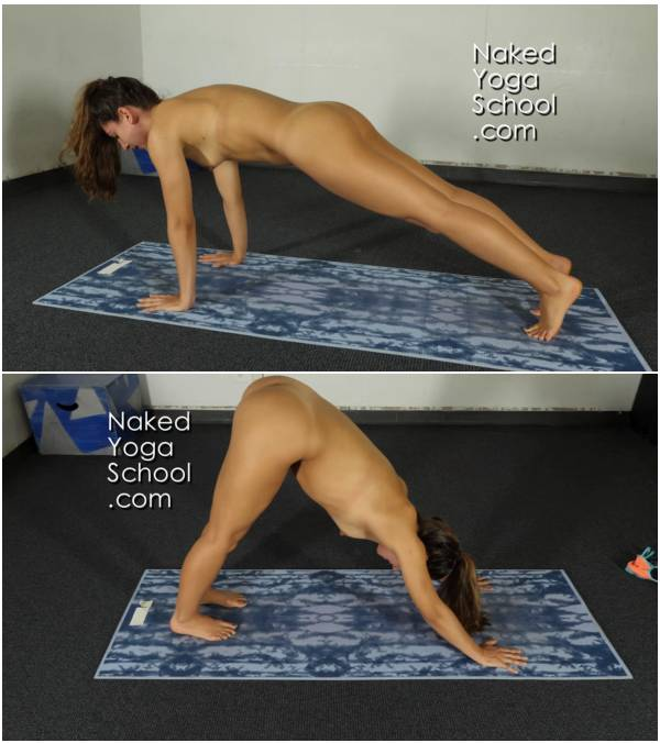 Naked Yoga To Sculpt Your Butt- Stronger Booty and Back 45 minutes