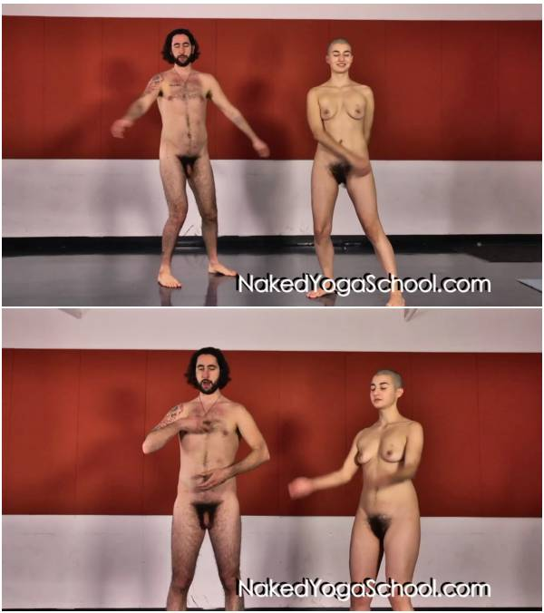 Nude Taoist Yoga 6- Warm ups  and  Swinging