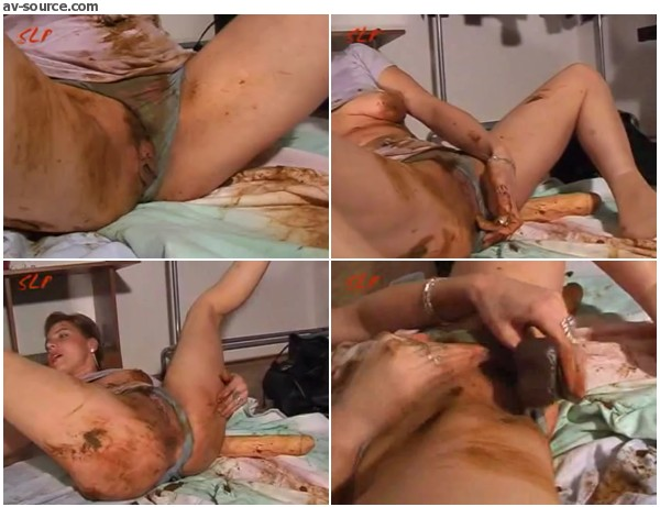 Steffi Fucks Herself Shitting  MOTHERLESSCOM