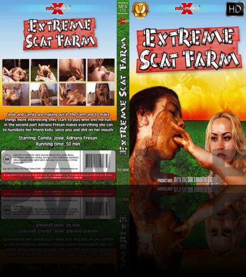 MFX-175 - Extreme Scat Farm (outdoor, puke, shit eating, lesbian, orgy)