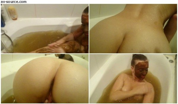 Brown Wife - Bathing in Shit Water. Part 2