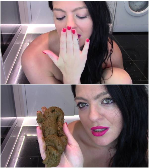 EvaMarie88 - Huge Shit Then I Lick And Kiss It (free brazilian scat videos)