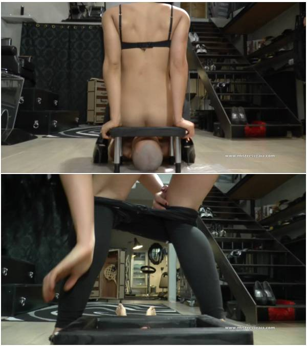 MistressGaia - Spit And Shit (scat domination videos)