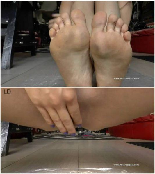 MistressGaia - Worship My Feet And My Shit