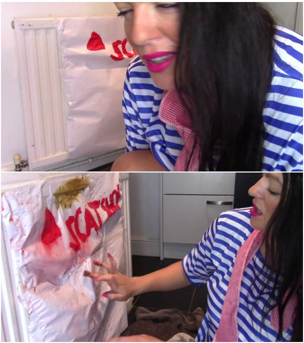 evamarie88 - Painting With Enema and Shit (amateur scat videos)