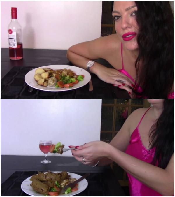 evamarie88 - Roast Dinner With Giant Log (scat videos)